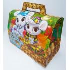 Упаковка для конфет Новый год 1000 грамм