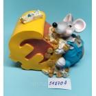Копилка керамическая с символом 2020 года Крысы 6,5*10 см