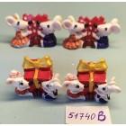 Статуэтки сувениры Мышки малютки 3*3,5 см
