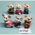 Статуэтки сувениры Крыски маленькие 3*3,5 см