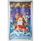 Пакеты фольгированные  для конфет Новый год  размер 20*35