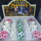 Свечи декоративные  набор Рождественский 20 штук