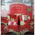 Свечи ароматизированные в стакане Рождественский цветок  BARTEK