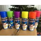 Цветной Снег в баллончиках для рисования на стеклах 6 цветов