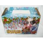 Упаковка для конфет Новый год 300 грамм
