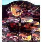 Свечи Bartek ароматизированные в стакане Chocolate  ( шоколад -вишня и шоколад-апельсин)