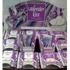 Свечи Bartek ароматизированные в стакане LAVANDER KISS ( лавандовый поцелуй)