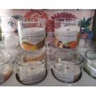 Свечи Bartek ароматизированные в стакане  Фруктовый тропический микс