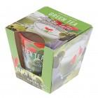 Свечи Bartek ароматизированные в стакане Green Tea