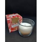 Свечи ароматизированные в стакане Биспол Bispol  Premium line