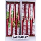 Свечи декоративные новогодние 30 см качество