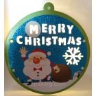 Новогоднее украшение с подсветкой Merry Christmas размер 27*25 см