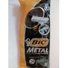 Станки для бритья Бик (Bic) Метал оригинал одноразовые 5 штук