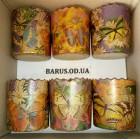 Формы для выпечки бумажные пергамент 110*85 Бабочки