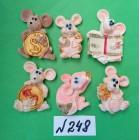 Магниты на холодильник год крысы Символ 2020 5*3,5 см
