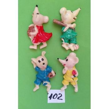 Магниты на холодильник керамика год крысы Символ 2020 6,5*3,5 см