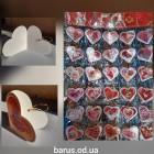 Открытки  Валентинки  размер 5*5 см