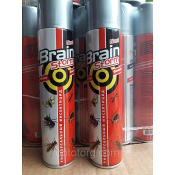 Дихлофос без запаха BRAIN STORM  220 МЛ