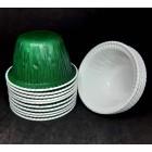 Формы для кексов с усиленным бортом 70*45мм Зеленые