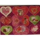 Магнит на холодильник ко Дню Влюбленных  набор 10 штук