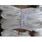 Веревка жесткая белая  6 мм*12 м