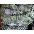 Веревка шнур жесткий 5 мм *12 м зебра