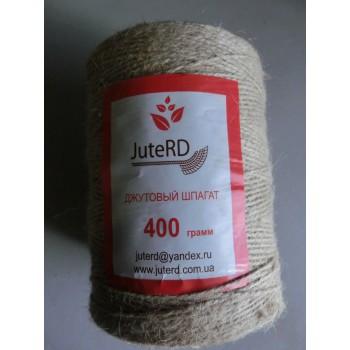 Веревка джут шпагат лен 400 грамм*200м