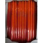 Пасха свеча пасхальная ХВ оранжевый 10*240 мм