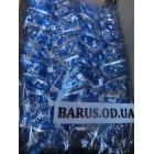 Новогодние украшения на елку Бант орнамент синий