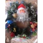 Новогодние украшения Рождественский венок объем 45см