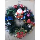 Новогодние украшения Рождественский венок объем 35см
