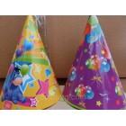 Колпачoк на день рождения объем 10см*высота 13см