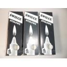 Свечи парафиновые хозяйственные оптом 15,5 см 6 штук в упаковке