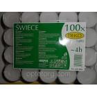 Свеча чайная плавающая таблетка 4 часа 100шт/упаковка  Биспол Польша