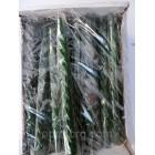 Новогодние Свечи декоративные перломутр зеленый 45 штук
