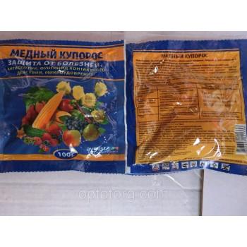 Медный купорос качество защита растений от болезней качество 100 гр